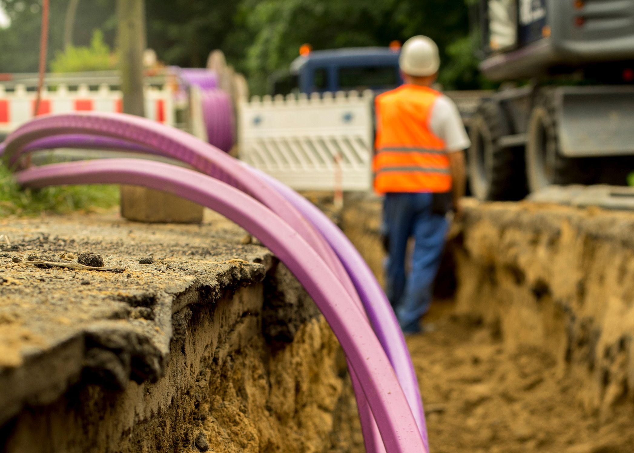 Bauarbeiten ab 22.07.2019: Das Baufeld wird erschlossen